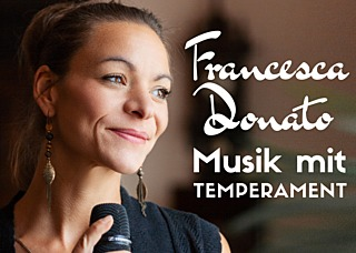 Event- & Hochzeitssängerin Francesca Donato